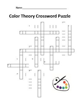 Color Theory Puzzles and Vocabulary Guide