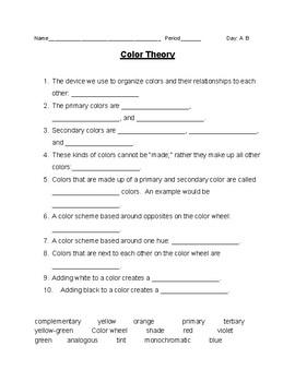 Color Theory Quiz
