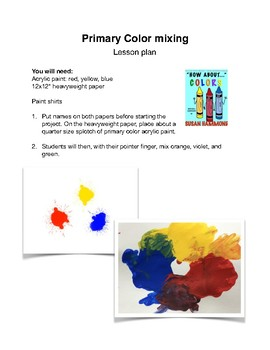 Color Theory: Six Lesson Plans