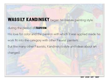 Color Theory Slideshow: Wassily Kandinsky. Art History for Kids!