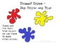 Color Theory Presentation/ Posters with Paint Splats