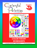 Color Theory Worksheets - Elements of Art - Color
