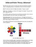 Color Theory and Color Moods