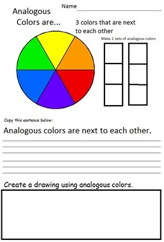 Art Elements - Color Theory in Art  (31 Pages plus Teacher's Guide), Art Lesson