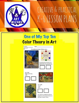Art Elements - Color Theory in Art  (14 Pages plus Teacher