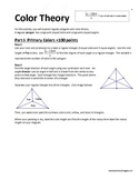 Color Theory through Regular Polygons