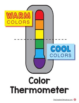 Elements of Art Posters: Color (Warm/Cool)