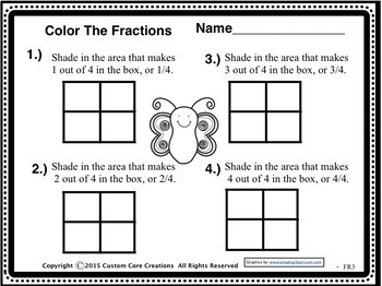 Color Those Fractions
