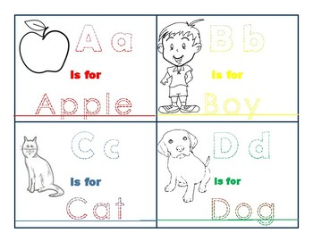 Color Through My ABC's