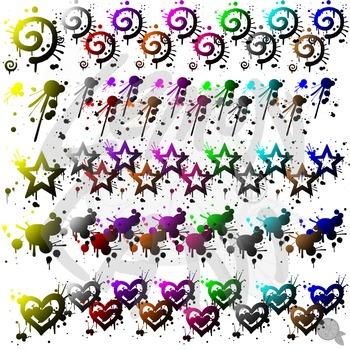Color To Black Gradient Clip Art
