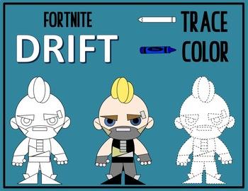 Color & Trace - FORTNITE DRIFT