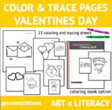 Color & Trace: Valentines Day