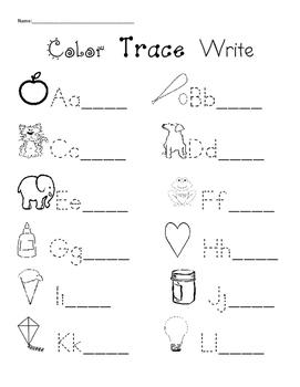 Color Trace Write