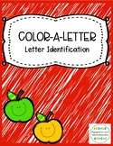 Color & Trace a Letter - Letter Identification Activities