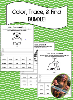 Color, Trace, and Find Bundle