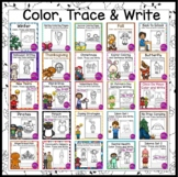 Color Trace and Write Independent Work Packet Bundle