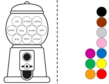 Color Unit for Preschool and Kindergarten
