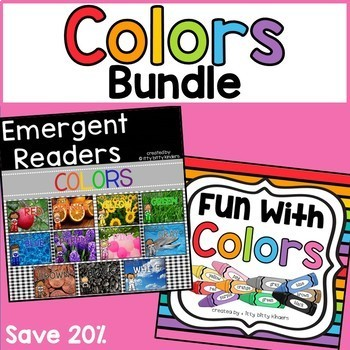 Color Unit with Emergent Readers