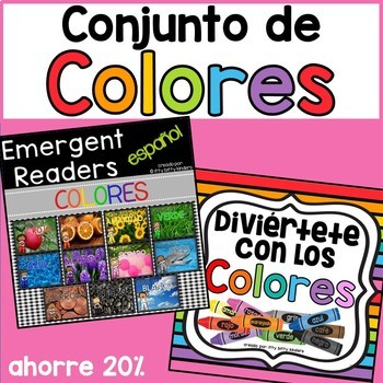 Colors, A Color Unit in Spanish with Emergent Readers, Colores