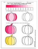 Color Value Pumpkin Worksheet