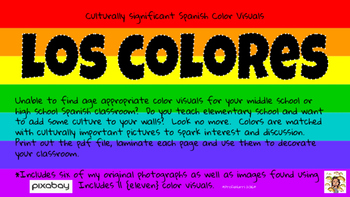 Color Visuals with Cultural Ties