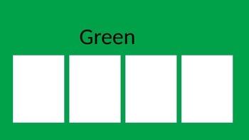 Color Vocabulary Activity