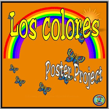 Color Poster Vocabulary Project / Proyecto de vocabulario de los colores