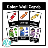 Color Wall Card Posters (Black Block)