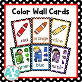 Color Wall Card Posters (Black Dots)