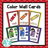Color Wall Card Posters (Rainbow Chevron)