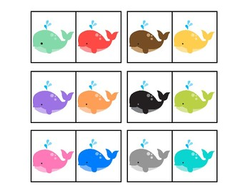 Color Whales Matching for Autism