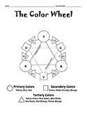 Color Wheel Activity Sheet