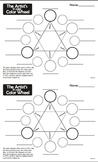 Color Wheel (Basic 12 color wheel) USA spelling