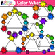 Color Wheel Clip Art {Lesson Ideas for Color Theory, Paint Splashes and Blobs}