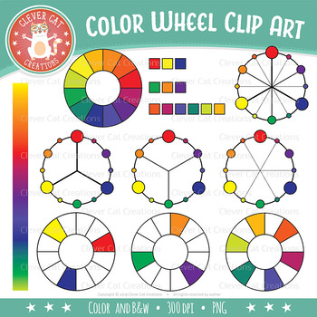 Color Wheel Clip Art