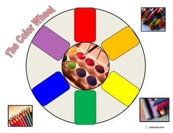 Color Wheel Cut and Paste for Autism