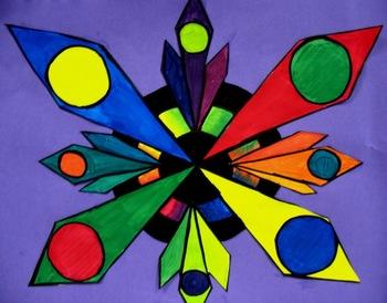 Color Wheel Design Lesson Plan