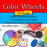 Color Wheel (Found Color Wheel and Pizza Color Wheel) Vide