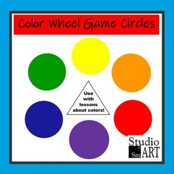 Color Wheel Game Circles