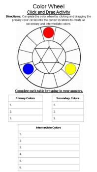 Color Wheel Handout