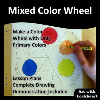 Color Wheel Mixing Colors