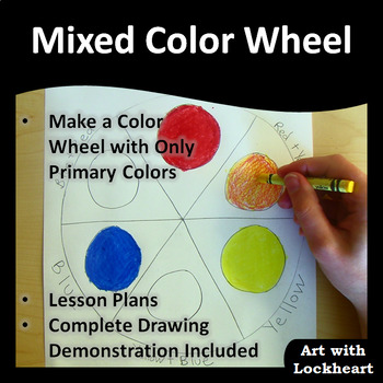 Color Wheel Mixing Colors