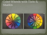 Color Wheel Painting with Tints and Shades!
