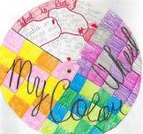 Color Wheel Poetry Writing