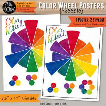 Color Wheel Poster {FREEBIE}