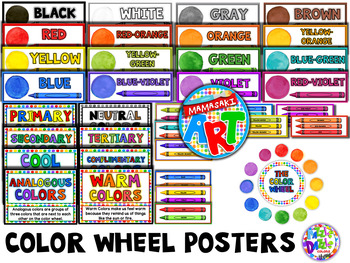 Color Wheel Poster Set