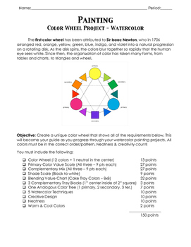 Color Wheel Project