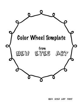Color Wheel Template Printable