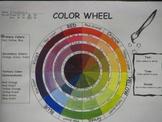 Color Wheel Template (Tints, Tones, Shades)