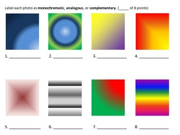 Color Wheel Test